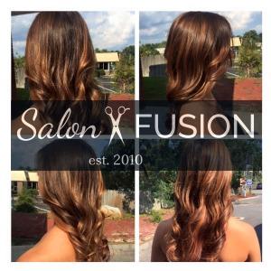Salon Fusion hair pic