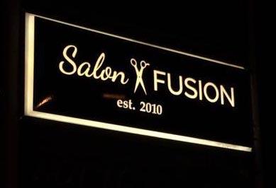 Salon Fusion SIgn