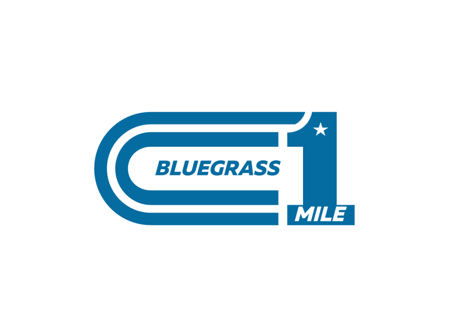 Bluegrass Mile logo