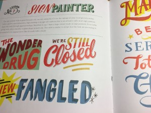 Hand Lettering Ledger by Mary Kate McDevitt