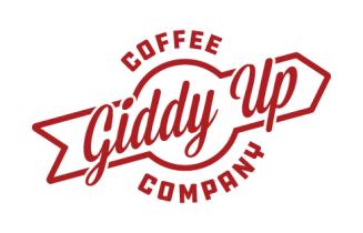 Giddy Up Coffee Company logo